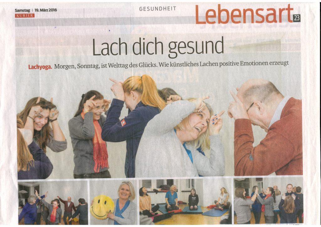 Mentaltraining Wien - Mentaltrainerin Nina Fuchs in der Presse