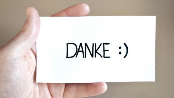 Jahresvorsatz Dankbarkeit - lachen wirkt